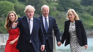 Boris and Biden have met in Cornwall