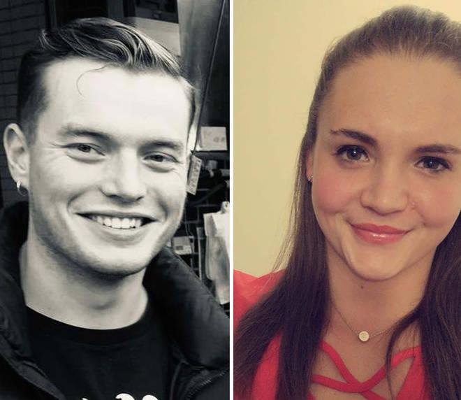 Jack Merritt, 25, and Saskia Jones, 23, were the victims of Khan's terror attack