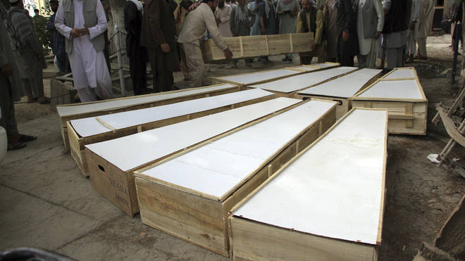 The attacks in the Baghlan province of Afghanistan left 10 people dead