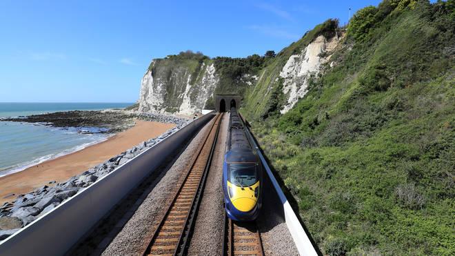 A Southeastern train