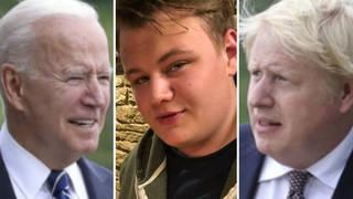"Boris Johnson has said US President Joe Biden is ""extremely sympathetic"" to the Harry Dunn case"