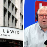 'You're barking up the wrongtree!': Callers clash over John Lewis' equal parental leave