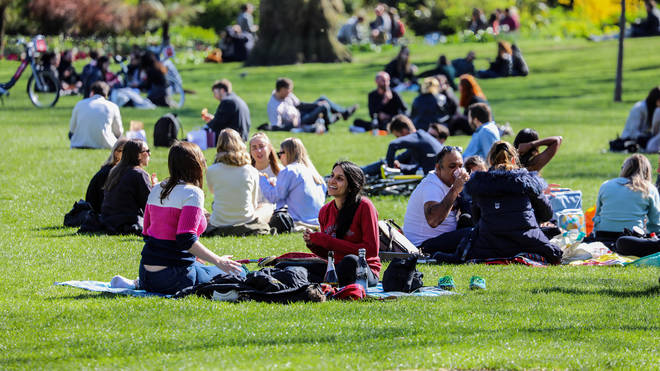 Temperatures could reach as high as 30C in the UK.