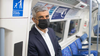 """Sadiq Khan has warned of the """"catastrophic collapse"""" of London's industries should 21 June not go ahead"""