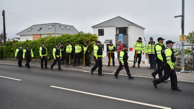 Thousands of police officers descended on Cornwall for the G7 summit