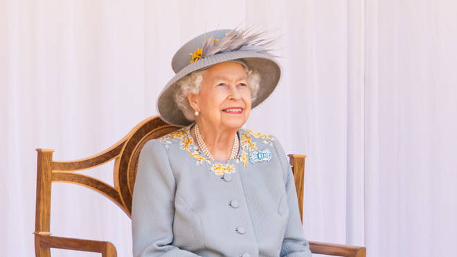 The Queen enjoyed a scaled back Trooping the Colour for the second year running