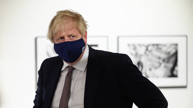 """Boris Johnson said the spread of the Delta Covid variant is a """"serious concern"""""""
