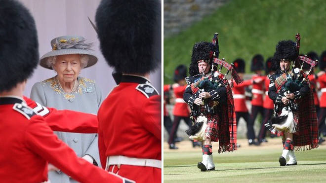 The Queen enjoyed her official birthday Trooping the Colour ceremony