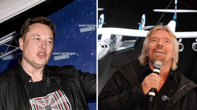 Jeff Bezos joins billionaire businessmen Elon Musk and Richard Branson in ambitions for commercial space travel