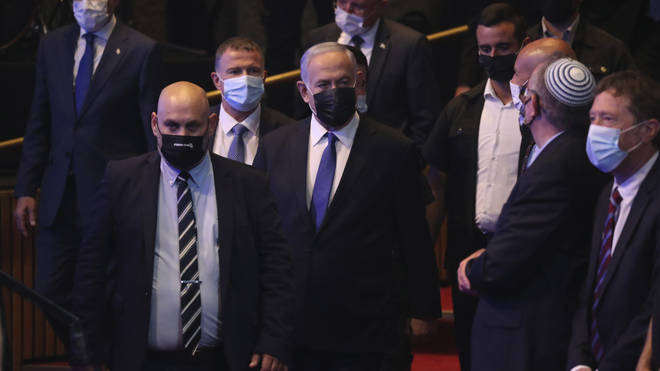 Benjamin Netanyahu has been ousted from power amid a corruption trial