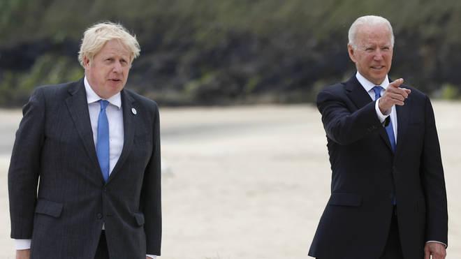 Boris Johnson and Joe Biden have discussed the 'lab leak' theory of Covid's origins