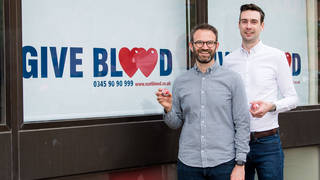Men in long term relationships with other men will now be allowed to give blood.