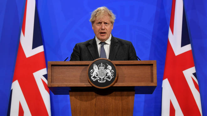 Boris Johnson will lead Monday's Downing Street press conference as he addresses the nation on the next step of lockdown easing..