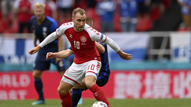 """Danish Midfielder Christian Eriksen has said he will not """"give up"""" in his first public words since he collapsed during a Euro 2020 match against Finland"""