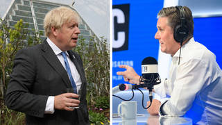 Sir Keir Starmer strongly condemned the G7 BBQ that saw leaders gathering in a group of around 40.