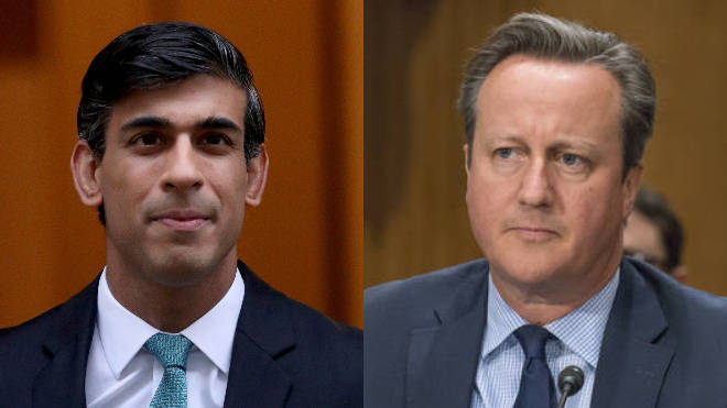 Rishi Sunak and David Cameron exchanged WhatsApp messages over Greensill Capital, prompting the new review into standards.