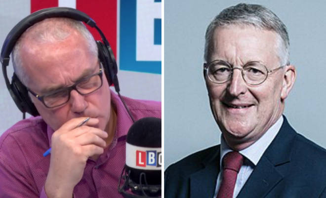 Eddie Mair asked Hilary Benn wether Brexit could be stopped