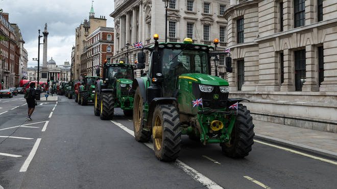 Some farmers and ministers have protested parts of the UK-Australia trade deal over the impact it could have on British agriculture