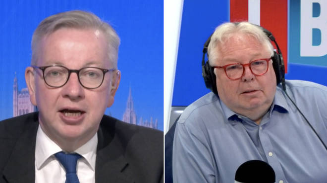 """Michael Gove said it would take a """"bizarre event"""" to derail July 19"""