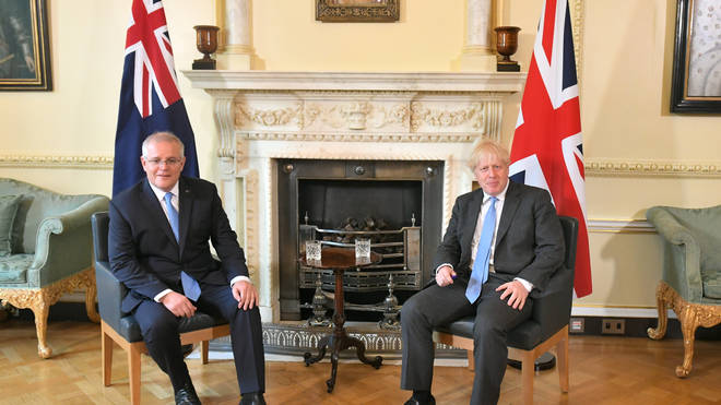 A post-Brexit trade deal has been agreed between the UK and Australia