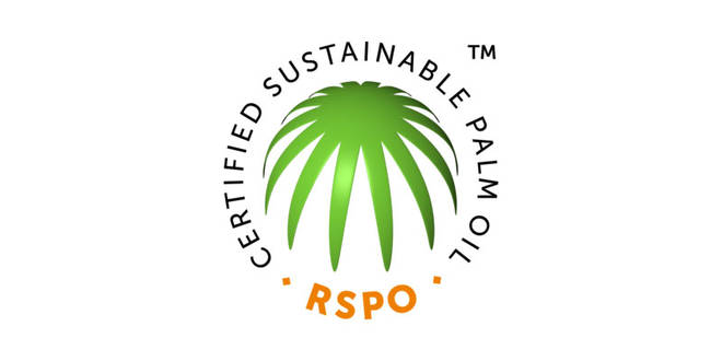 The sustainable palm oil symbol