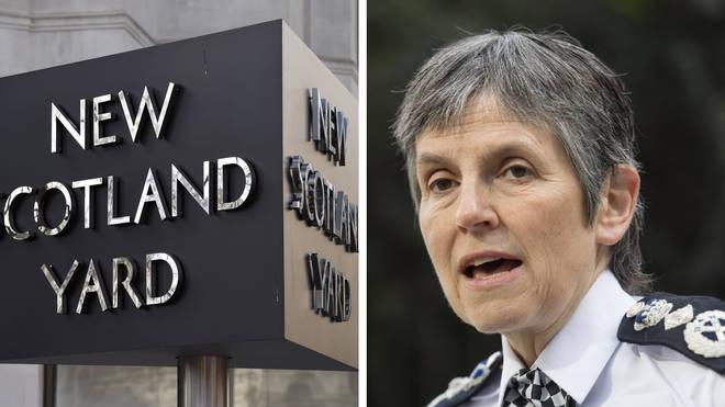 Alastair Morgan accused Dame Cressida Dick of