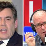 Gordon Brown responds to 'PM's texts' on 'f***ing hopeless' Hancock