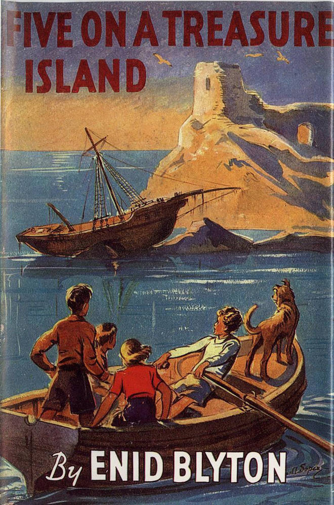 Enid Blyton was best known for her 'Famous Five' series of books