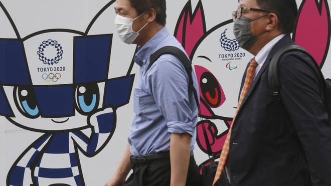 Japan Tokyo Olympics poster