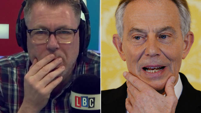 Ian Collins and his caller shuddered at the thought of President Blair