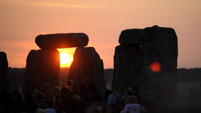 The summer solstice will be on 21 June.