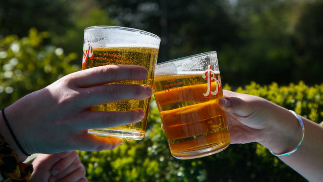 An estimated 14.8 million pints will be purchased across England and Scotland on Friday