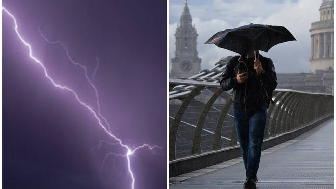 When will the rain stop? Weekend weather forecast revealed