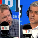 Sadiq Khan told LBC there will be a stronger police presence in areas of London hit hardest by knife crime