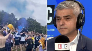 Sadiq Khan pleaded with Scotland fans without tickets to stay away from London