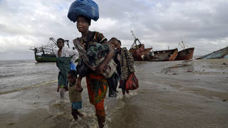 Refugees in Mozambique