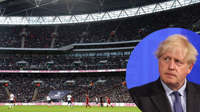 """Boris Johnson has said """"sensible accommodations"""" could be made to allow the Euro 2020 semi-finals and final matches to stay at Wembley"""