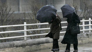 Torrential downpours are expected over coming days.