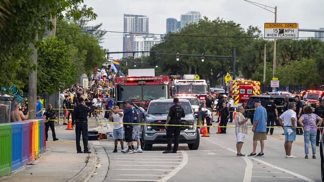 Fort Lauderdale Mayor Dean Trantalis confirmed the crash occurred on Saturday evening at the Stonewall Pride Parade in the nearby city of Wilton Manors