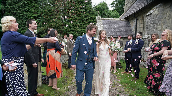 Wedding restrictions are among the rules that eased on Monday