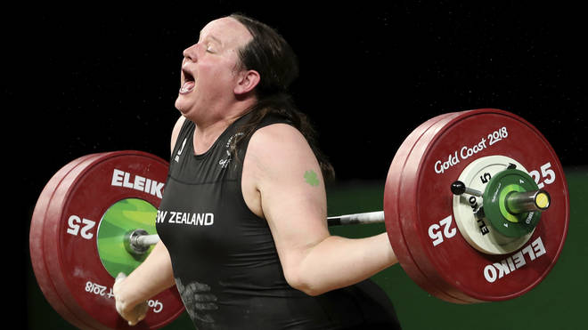 The weightlifter injured her arm in 2018's Commonwealth Games.