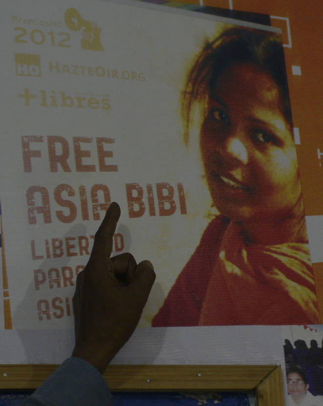 Asia Bibi was sentenced to death for blasphemy in Pakistan