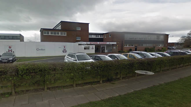 Parents were advised that security at West Park Academy primary school was being tightened following the incident at lunchtime.