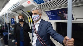 Sadiq Khan has pledged mobile coverage throughout the network by 2024