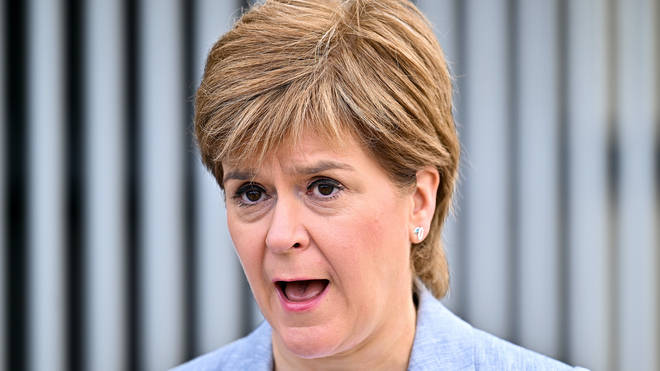 Nicola Sturgeon is to make an announcement at Holyrood on Tuesday
