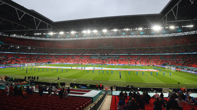 Wembley is set to host the semi-finals and final of Euro 2020