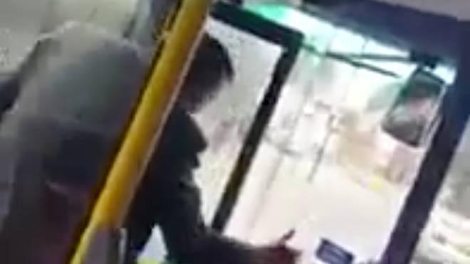 Polish bus attack