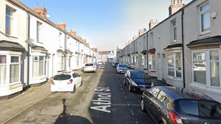 Police have identified a suspect they want to trace after the shocking incident, which happened in Athol Street, Middlesbrough, at around 8.30pm on Saturday