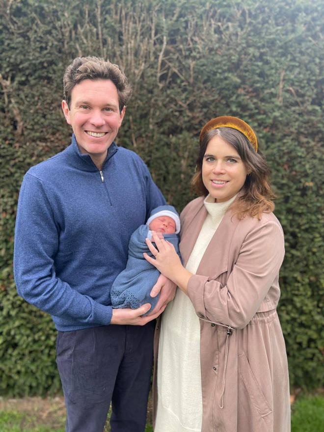 Princess Eugenie, her husband Jack and their son August currently live in Frogmore