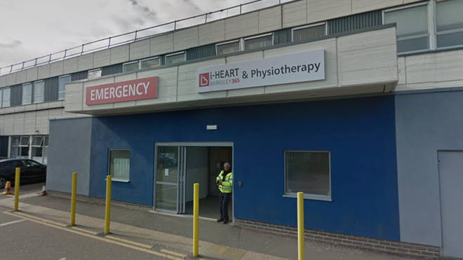 Barnsley Hospital has reportedly issued a 'black alert' due to a spike in A&E admissions